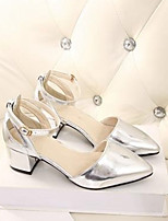 Women's Shoes Low Heel Heels Pumps/Heels Casual Pink/White/Silver