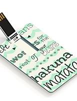 64gb Hakuna Matata Design-Karte USB-Stick