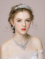 Women's Alloy/Rhinestone Jewelry Set Crystal/Rhinestone
