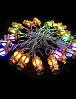 2W 4 Meter Outer Diameter 20pcs Bulb LED Modeling String Lighting Golden Lanterns Lights, RGB Color