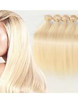 3pcs / lot brasileña del pelo humano de la trama recta 8