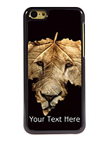 Personalized Gift The Lion and The Leap Design Aluminum Hard Case for iPhone 5C