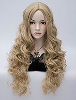 Long Wave Synthetic Wig Womens' Neat Bang Hair High Quality synthetic Wigs
