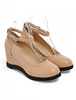 Women's Shoes  Wedge Heel Wedges Pumps/Heels Office & Career/Dress Black/White/Beige