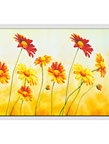 Oil Paintings Flower Style , Canvas Material with Stretched Frame Ready To Hang SIZE:60*90CM.