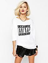 Women's Fashion Sexy Beach Casual Print Plus Size Short Sleeve Loose T-shirt