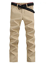 Men's Chinos , Casual Pure Cotton