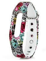 Replaceable TPU Band for Xiaomi Smart Watch Bracelet Flower Pattern