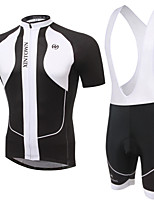 WEST BIKING® Men's Mountain Bike Clothing Bib Suit Breathable Elephant Pattern Wicking Cycling Clothing Bib Short Suit