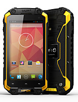 MFOX A5 Rugged Smartphone - IP68, 4.2 Inch 720p OGS Screen, MTK6589T Quad Core, 1.5 GHz, 1GB RAM, Android OS (Yellow)