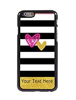 Personalizzata Telefono Caso - Moderno/Cartoni animati/Design speciale/Sport e fitness/Teschi/Leopardata - iPhone 6 - di Plastica/metallo