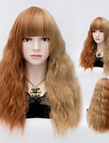 Curly Mix Color Synthetic Wig Womens' Hair High Quality Synthetic Wigs