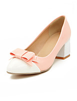 Women's Shoes Chunky Heel Pointed Toe Pumps Dress More Colors Available