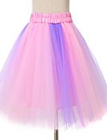 Puff Skirt Dance Tutu Dress    Dance Tutu Dress    Rainbow Colorful Tutu Skirt   Fluffy Tutu Skirt   Princess Tutu Skirt