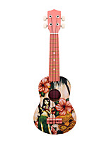 21-Inch Hawaiian Ukulele Girl