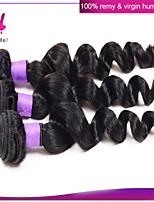 brasilianisches reines Haar lose Welle 3pcs / lot natürliche Farbe 100% unverarbeiteten brasilianischen reinen Haares