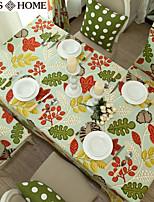 Pastoral style cotton tablecloth 140cm*140cm