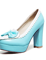 Women's Shoes Synthetic Cone Heel Heels/Platform/Basic Pump Pumps/Heels Wedding/Office & Career/Party &