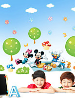 Wall Stickers Wall Decals,Donald's Mickey Mouse PVC Wall Stickers