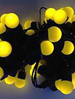 6W 5 Meter Outer Diameter 50pcs Bulb LED Modeling String Lights  Small Ball Lights, Yellow Color