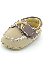 Baby Shoes Outdoor/Casual Faux Fur Boat Shoes Black