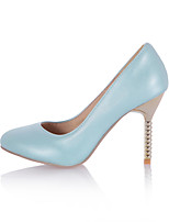 Women's Shoes Stiletto Heel Pointed Toe Pumps/Heels Office & Career/Dress Black/Blue/Pink/White