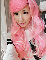 Japanese and Korean Fashion Color Cosplay Long Hair Wig