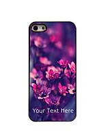 Personalized Gift Blooming Flower Design Aluminum Hard Case for iPhone 4/4S