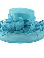 Women Party Summer Linen Hat