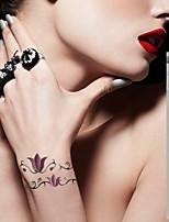 12pc butterfly/flower/totem Waterproof Body Art Tattoo Pattern Temporary Tattoos Sticker(21cm*3cm)