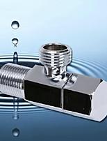 laiton robinet d 'angle G1 / 2 mâle poignée hexagonale angle salle de bains de la vanne accessoires de robinet