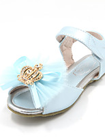 Girls' Shoes Casual Open Toe Faux Leather Sandals Blue