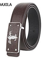 Men Party/Work/Casual Calfskin Waist Belt leather belt new men leather belt leisure and business belt joker