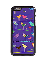 Personalized Gift Birds Design Aluminum Hard Case for iPhone 6