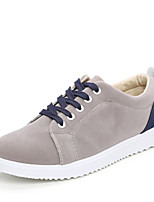 Men's Shoes Outdoor/Athletic Leather Fashion Sneakers Black/Blue/Yellow/Gray