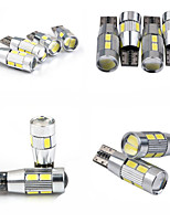 Teso T10 4W DC 11 To 13 V 10PCS  5630/5730 SMD LED canbus 6000-6500K  wide lamp, reading lamp, car license plate lamp