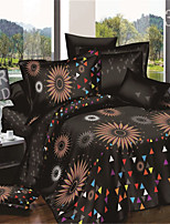 3D Reactive Print 4Pcs Bedding Sets Luxury Include Duvet Cover Bed Sheet Pillowcase