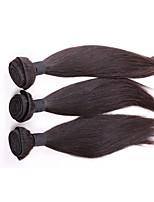 Brazilian Virgin remy Hair Weave Bundles  Straight Hair 3Pcs Lot, 100% Cheap Human Hair Weaves