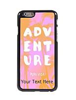 Personalized Gift ADVENTURE Design Aluminum Hard Case for iPhone 6