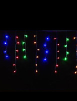 4W 3 Meter Long 100pcs LED String Light with AC110-220V Input PVC Transparent, Red/Green/Blue/Yellow Color