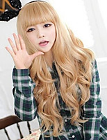 European and American Fashion Golden Girl Big Waves Natural Wigs