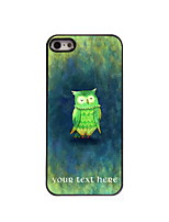 Personalized Gift The Owl Design Aluminum Hard Case for iPhone 4/4S