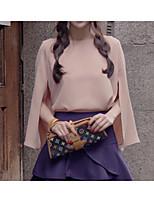 Women's Pink Blouse Short Sleeve