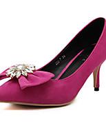 Women's Shoes Stiletto Heel Heels Pumps/Heels Outdoor/Casual Black/Pink/Gray