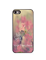 Personalized Gift Hello Spring Design Aluminum Hard Case for iPhone 4/4S