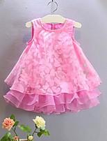 2015 Summer Sweet Princess Organza Girl Jumper Skirt