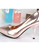 Women's Shoes Stiletto Heel Heels/Pointed Toe/Closed Toe Pumps/Heels Office & Career/Dress Silver/Gold