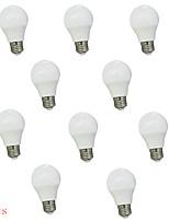 3W E26/E27 Ampoules Globe LED A60(A19) 8 SMD 5630 450 lm Blanc Chaud / Blanc Froid Décorative AC 100-240 V 10 pièces