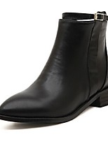 Women's Shoes Synthetic Chunky Heel Fashion Boots Boots Casual Black