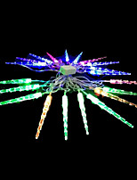 2W 4 Meter Outer Diameter 20pcs Bulb LED Modeling String Lighting Small Icicles Lights, RGB Color